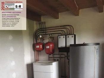 RÉCOMPENSE : Pompe à chaleur Géothermique VAILLANT