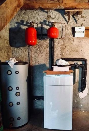 Installation d'une Géothermie Eau/Eau