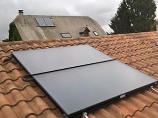 Chauffe eau solaire intégré à une chaudière gaz à condensation