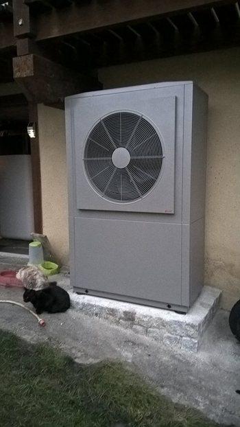 Installation d'une Pompe à chaleur Auer et Ballon thermodynamique Daikin