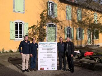 Inauguration à la Maison de la nature de Puydarrieux