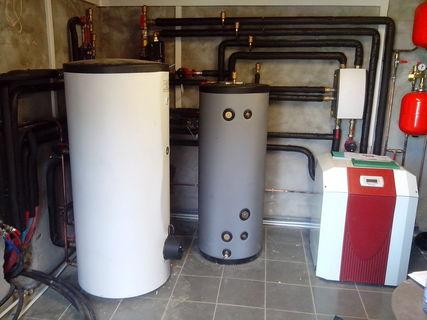 Rénovation - Pompe à chaleur Eau glycolée Eau DIMPLEX SI 18 TU
