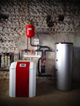 Rénovation - Pompe à chaleur Eau Eau - DIMPLEX WI 22 TU