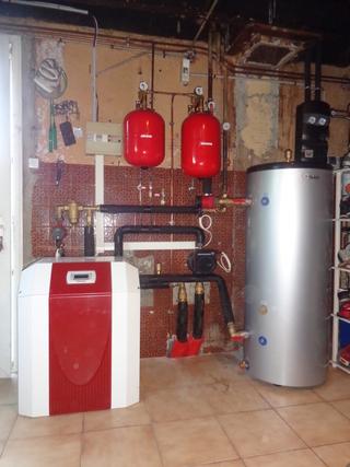 Rénovation - Pompe à chaleur Eau glycolée Eau - DIMPLEX SI 14 ME 2