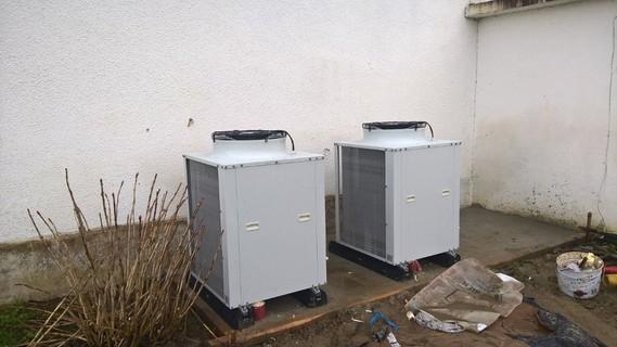 Rénovation - Pompe à chaleur Air Eau - ARKTEOS AJPAC 200 W exterieur
