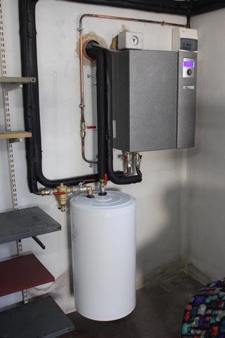 Rénovation - Pompe à chaleur Air Eau - Aplha Innotec LWD 70ASX chauffage seul
