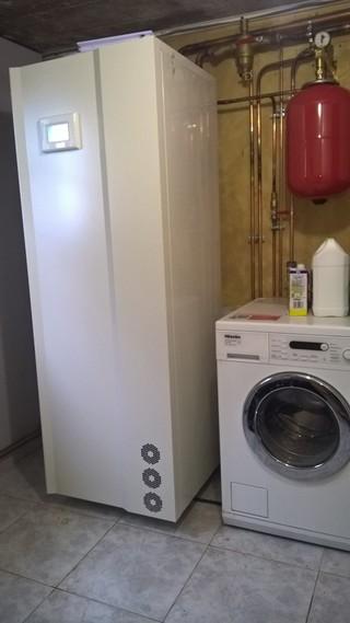 Rénovation - Pompe à chaleur Air Eau -ARKTEOS AJPAC 200 W interieur