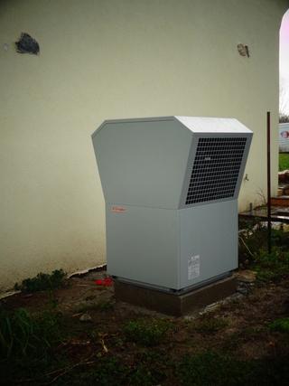 Rénovation - Pompe à chaleur Air Eau - DIMPLEX LA 11 MAS