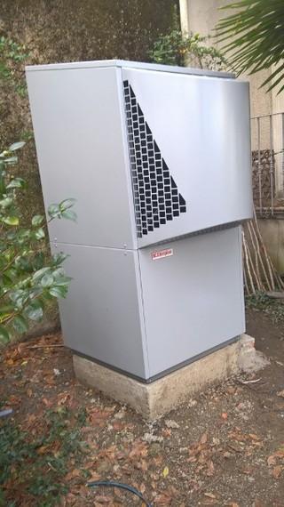 Rénovation - Pompe à chaleur Air Eau - DIMPLEX LA 28 TBS exterieur