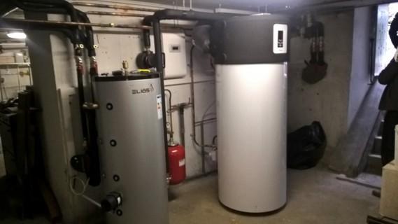 Rénovation - Pompe à chaleur Air Eau - DIMPLEX LA 28 TBS interieur