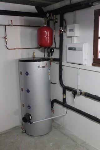 Rénovation - Pompe à chaleur Air Eau - DIMPLEX LA 16 interieur