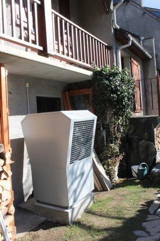 Rénovation - Pompe à chaleur Air Eau - DIMPLEX LA 16 exterieur