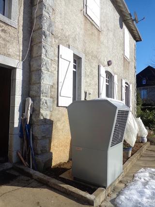 Rénovation - Pompe à chaleur Air Eau - DIMPLEX LA 16 TAS