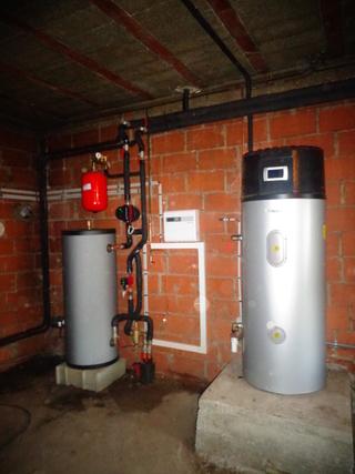 Rénovation - Pompe à chaleur Air Eau - DIMPLEX LA 22 PS interieur