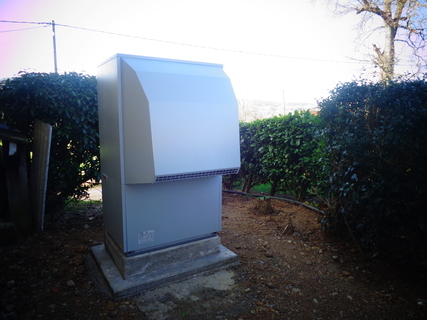 Rénovation - Pompe à chaleur Air Eau - DIMPLEX LA 22 PS exterieur.JPG