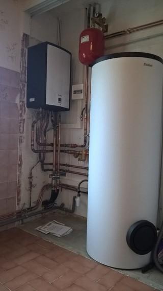Rénovation - Pompe à chaleur Air Eau- VAILLANT VWL 155 interieur.JPG