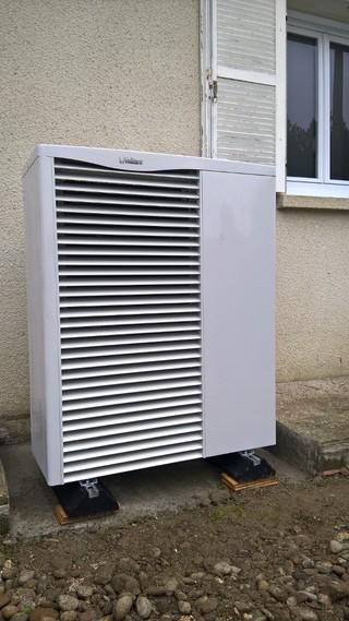 Rénovation - Pompe à chaleur Air Eau- VAILLANT VWL 155 exterieur