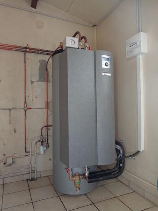 Rénovation - Pompe à chaleur Air Eau- ALPHA INNOTEC LWD 90A interieur