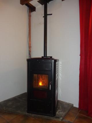 Poêle hydraulique granulés - KLOVER  DIVA